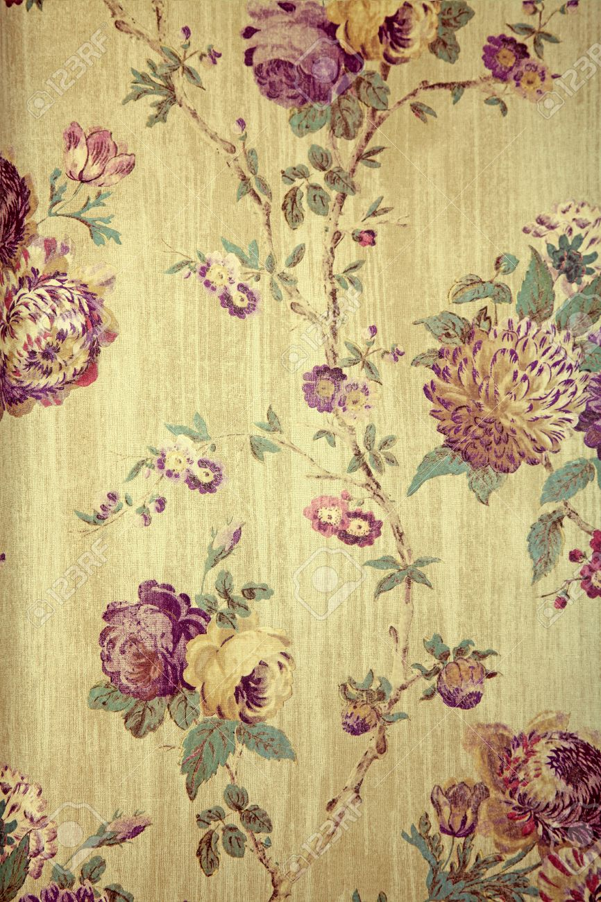 Victorian Pattern In Beautiful Style Material Design Floral