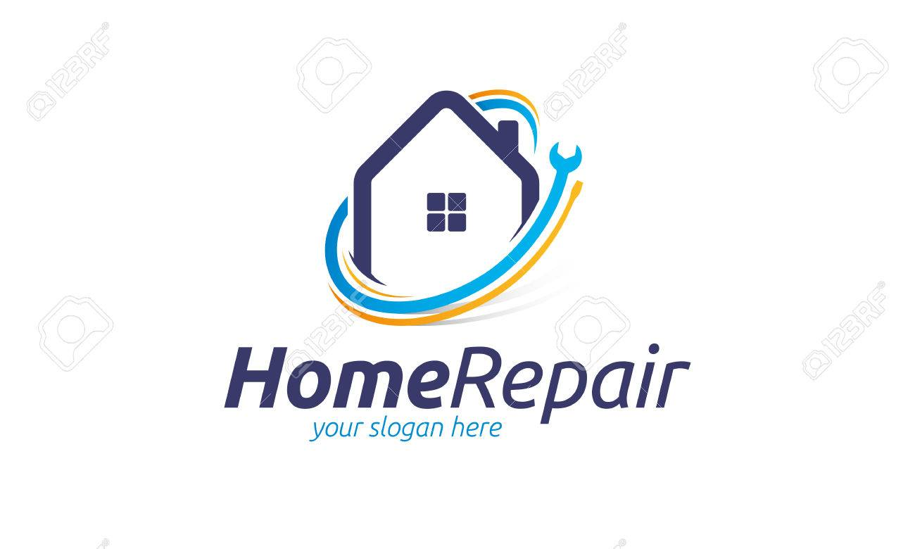 Home Repair Logo Royalty Free Cliparts Vectors And Stock Illustration Image 72666878