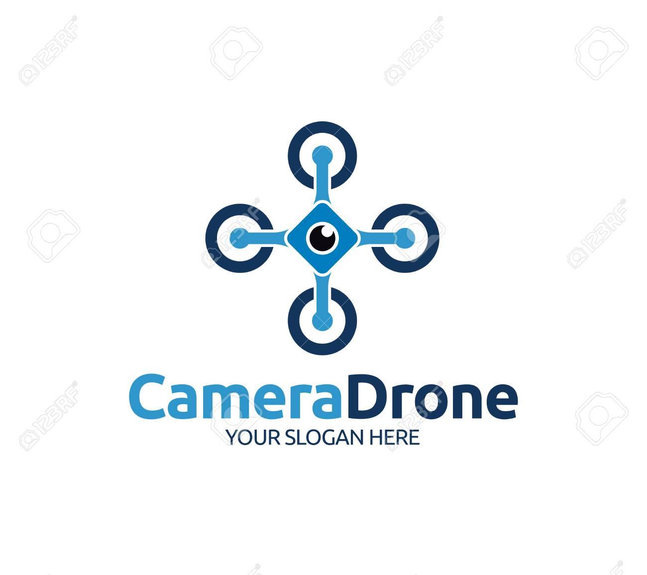 Camera Drone Logo Template - 112798580