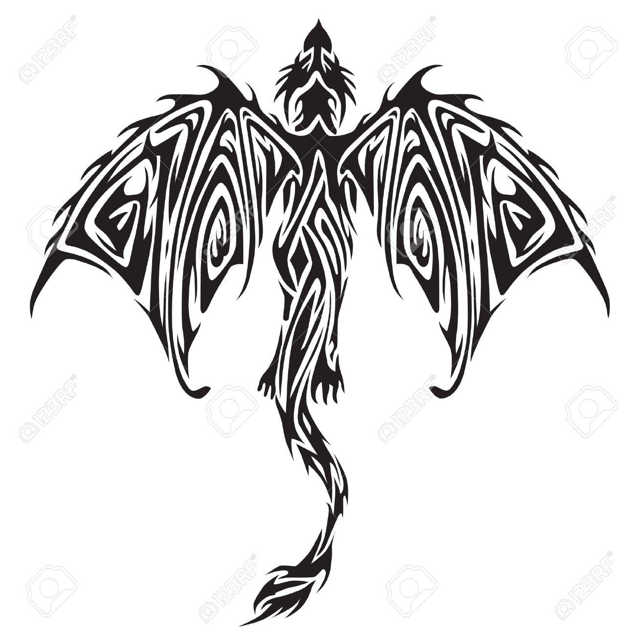 Tribal tattoo - 17931871