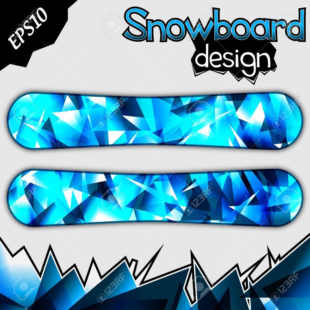 Snowboard Design - 23310887
