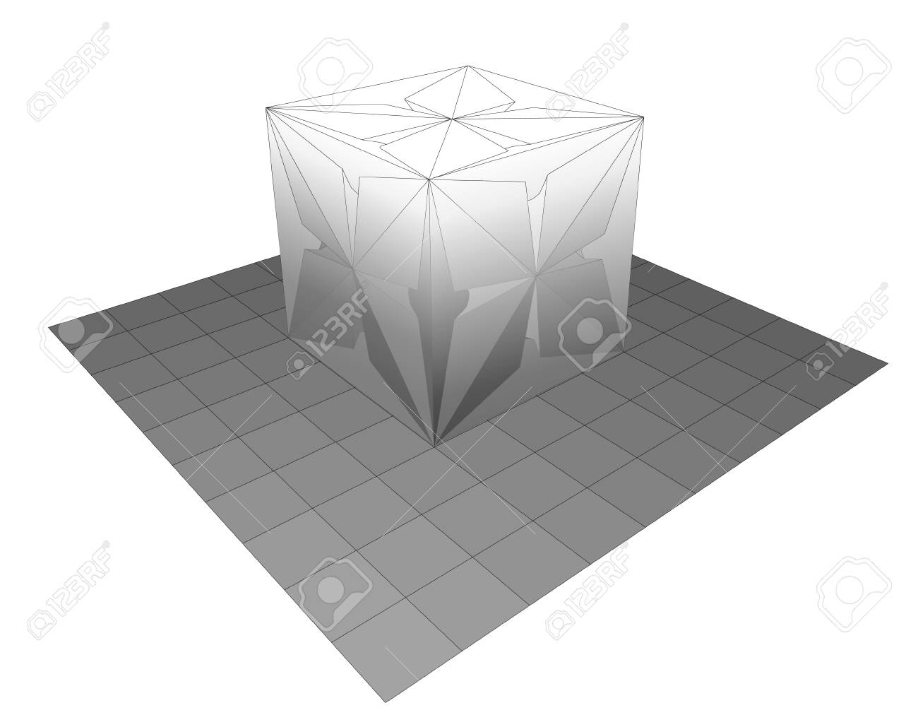 3D Printing EPS10 Vector - 26269726