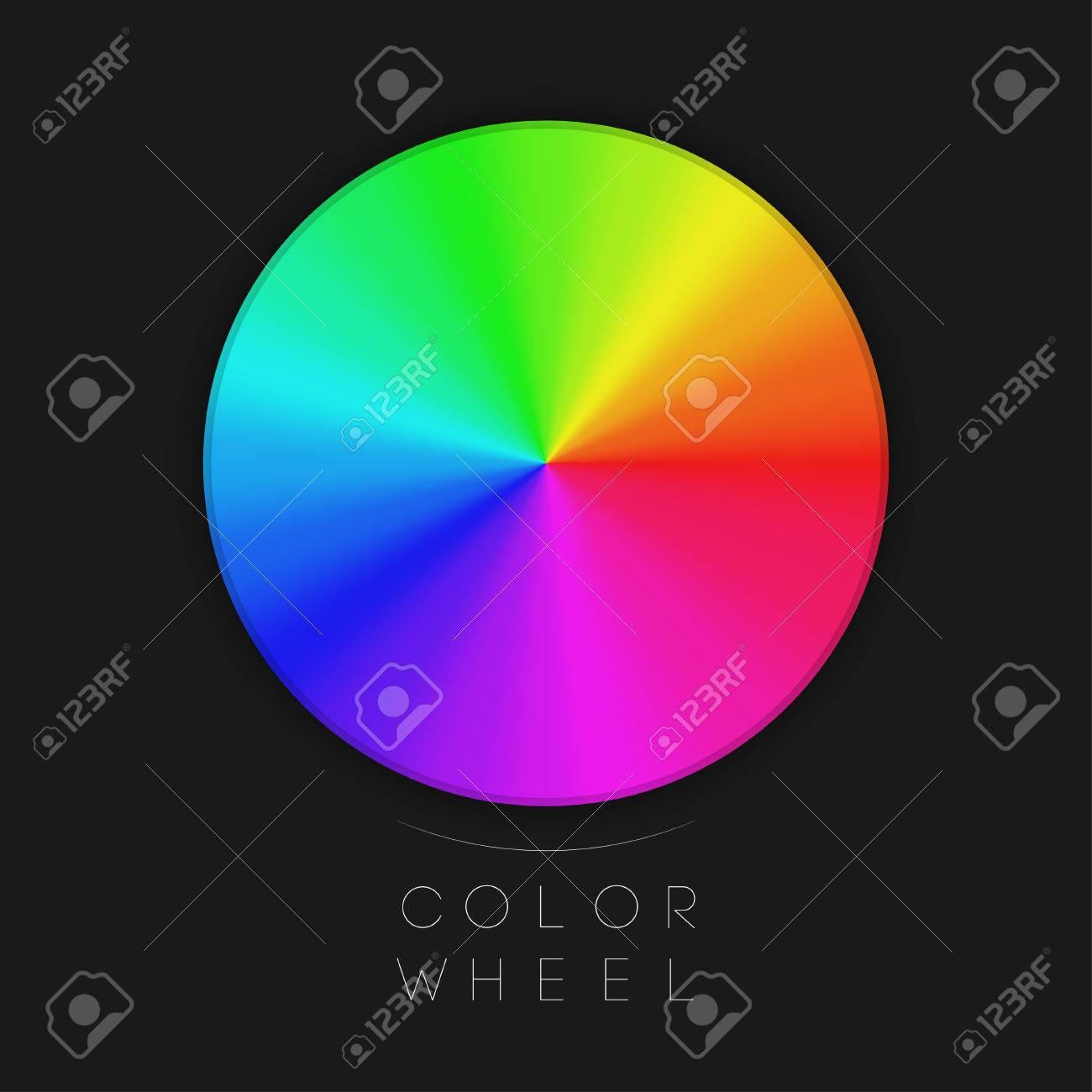 Color Wheel EPS10 Vector - 30510439