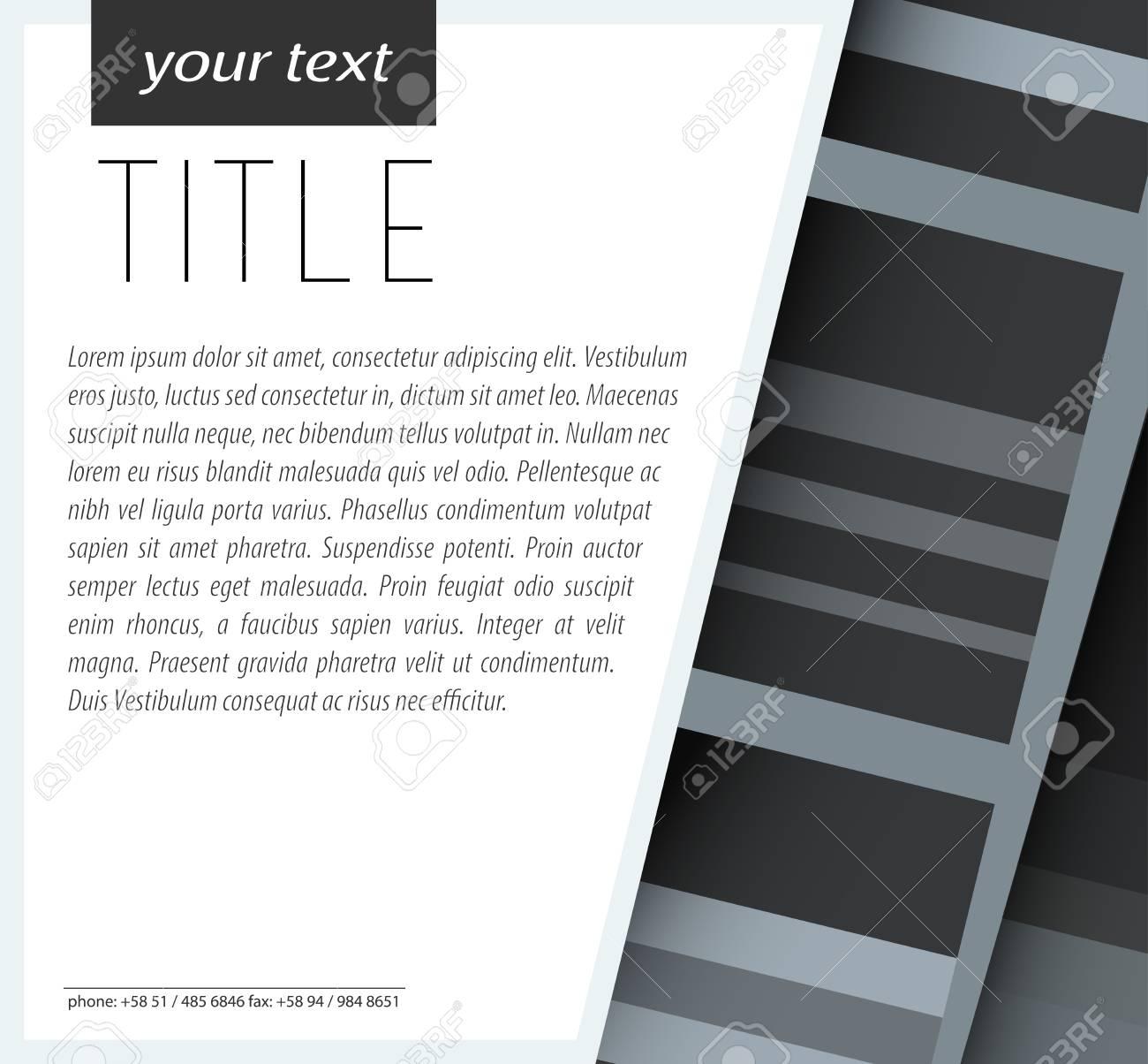 Modern Card Design EPS10 Vector - 51768724