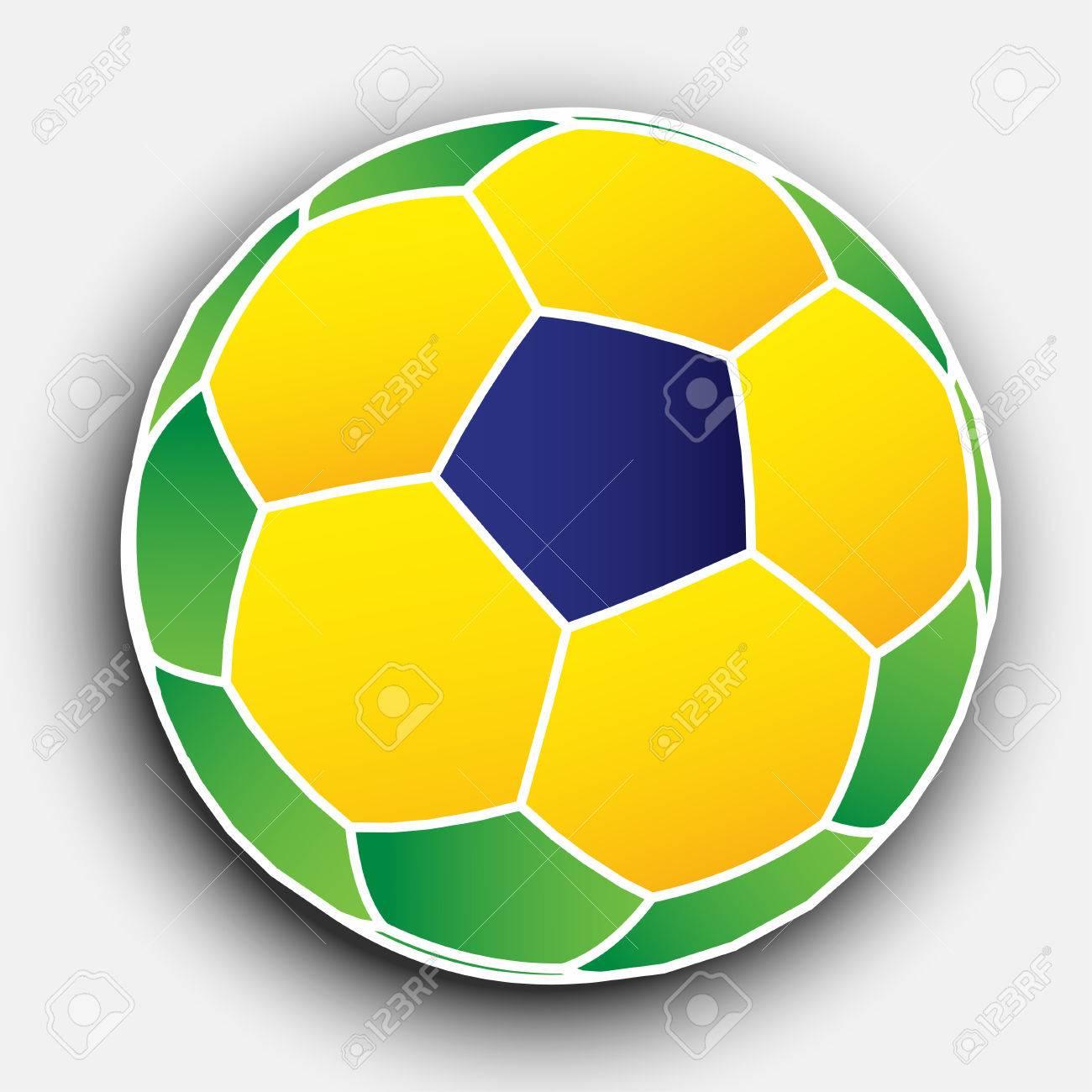 Abstract Soccer Ball EPS10 Vector - 51785680
