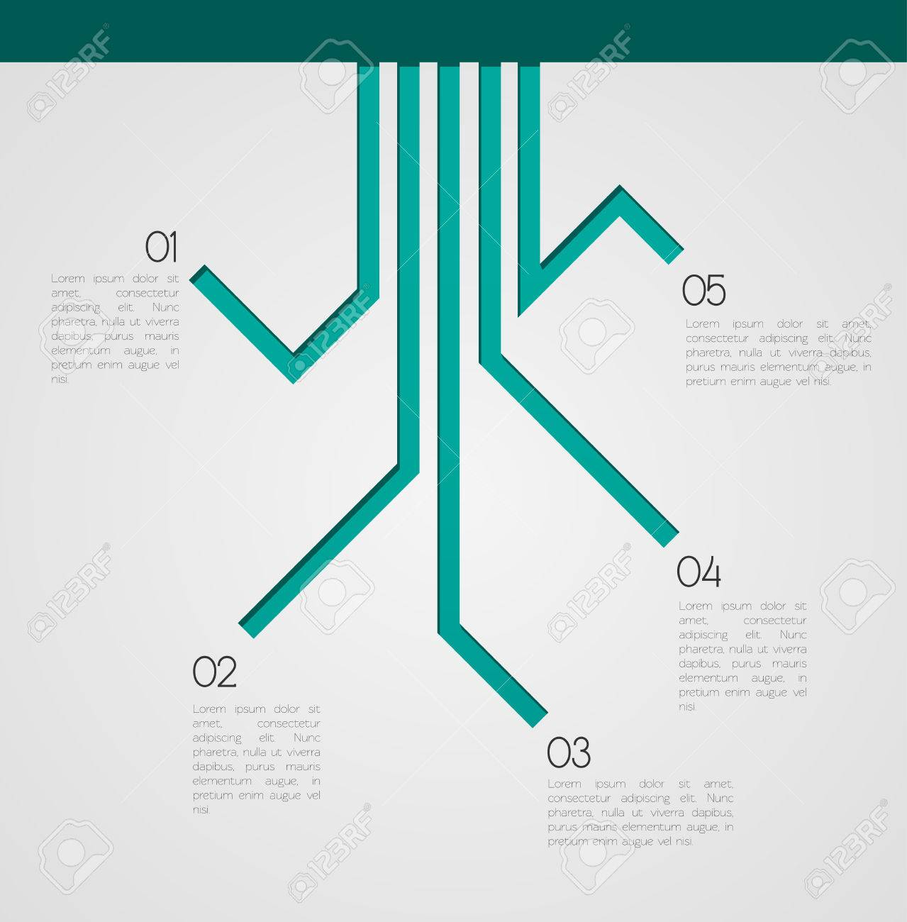 Different Way Infographics EPS10 Vector - 51785679