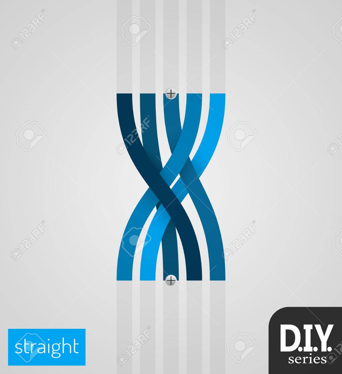 Do It Yourself - Straight Section Easy to use EPS10 Vector - 51785694