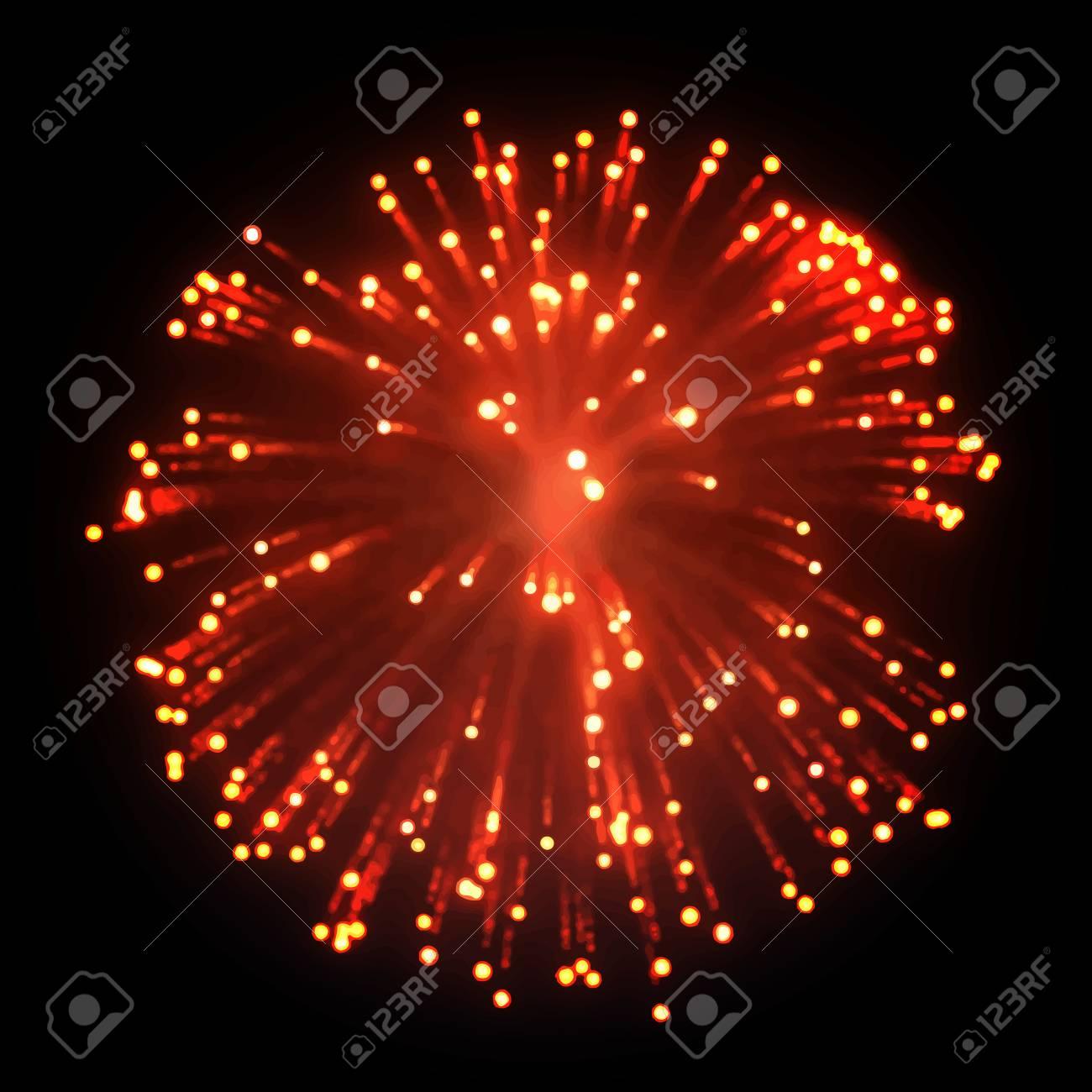 Firework EPS10 Vector - 51749640