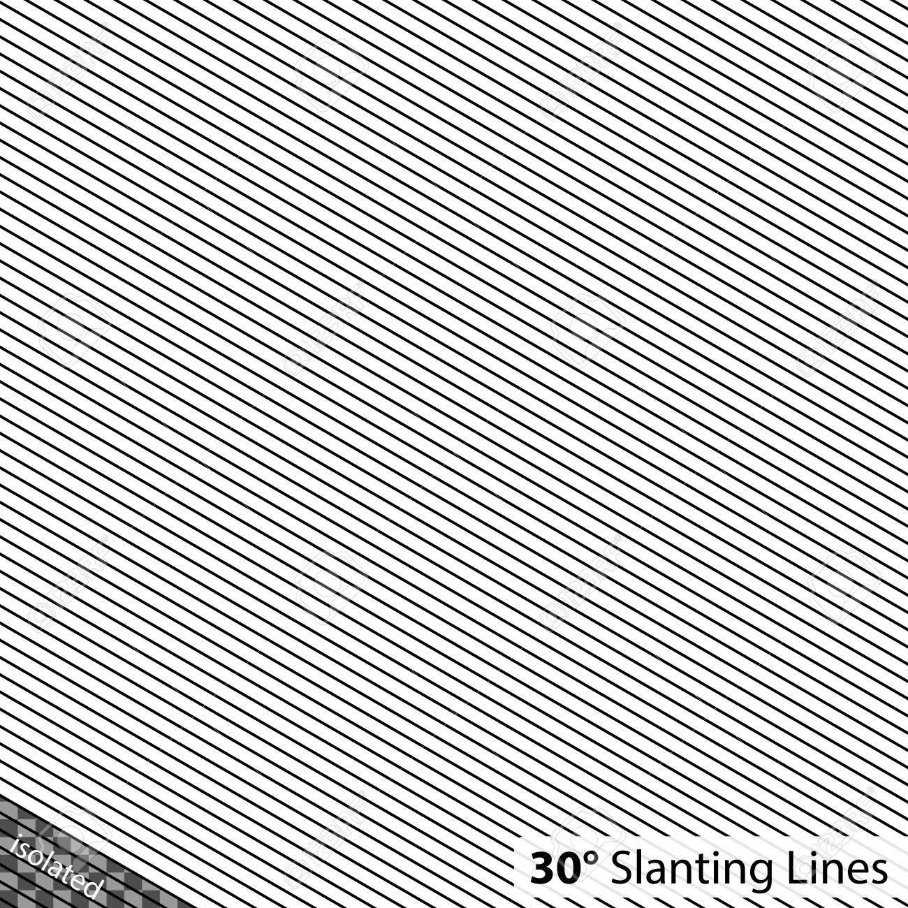 Simple 30 degree Slanting Lines - 51755946