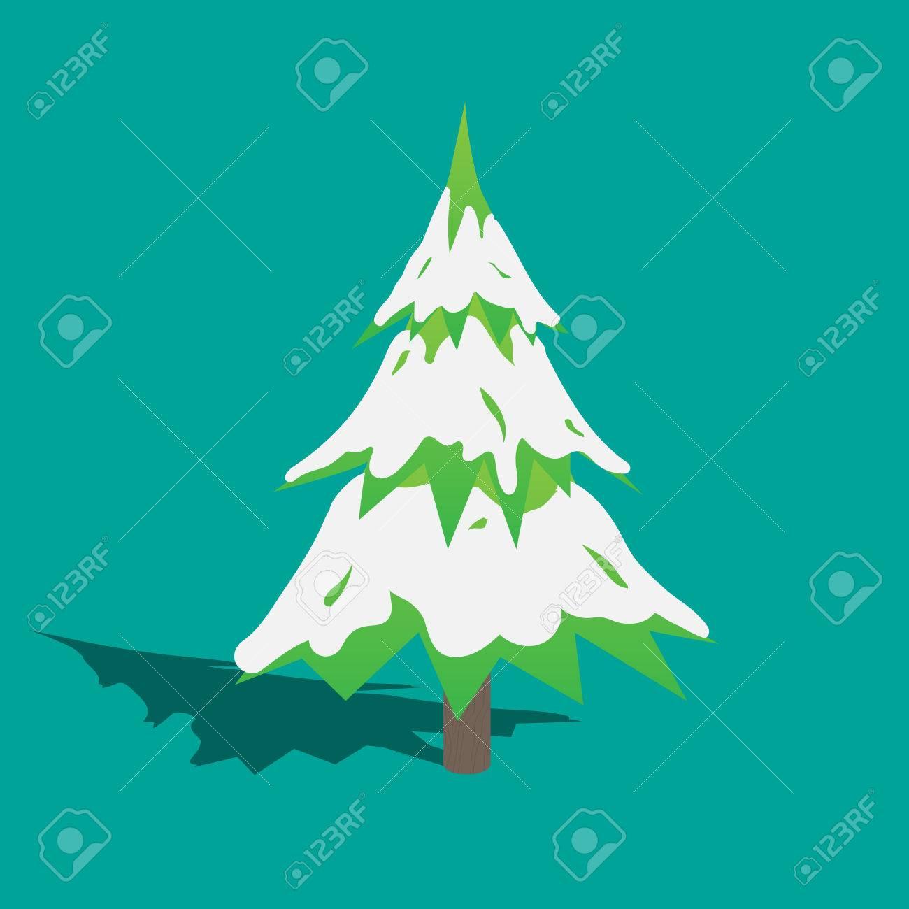 Christmas Tree EPS10 Vector - 51756178