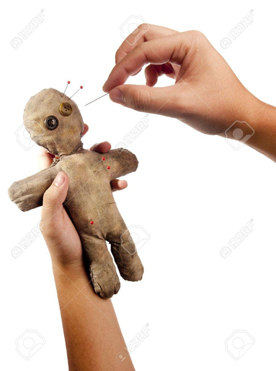 Кукла вуду как сделать своими руками в домашних условиях для здоровья