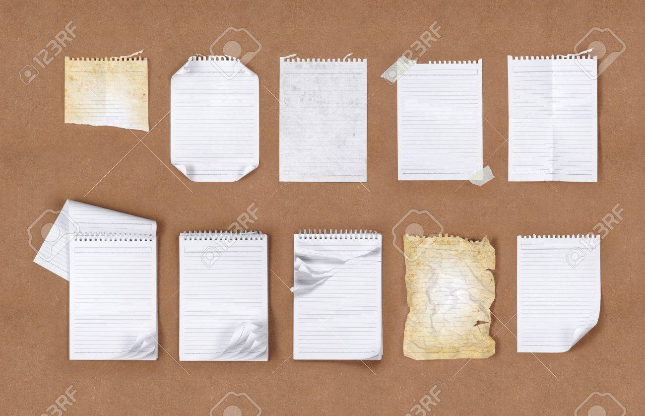 Many kind of different type of papers Stock Photo - 9028304