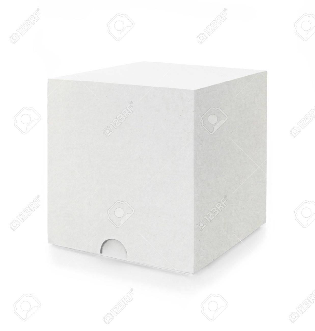 a white box isolated on white background Stock Photo - 10000147