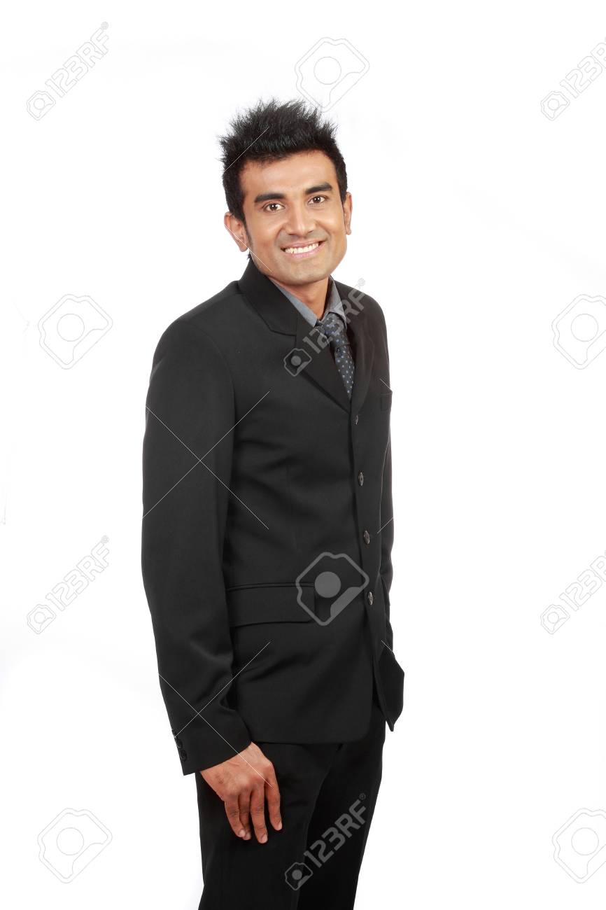 successful young arabic businessman smiling Stock Photo - 10329051