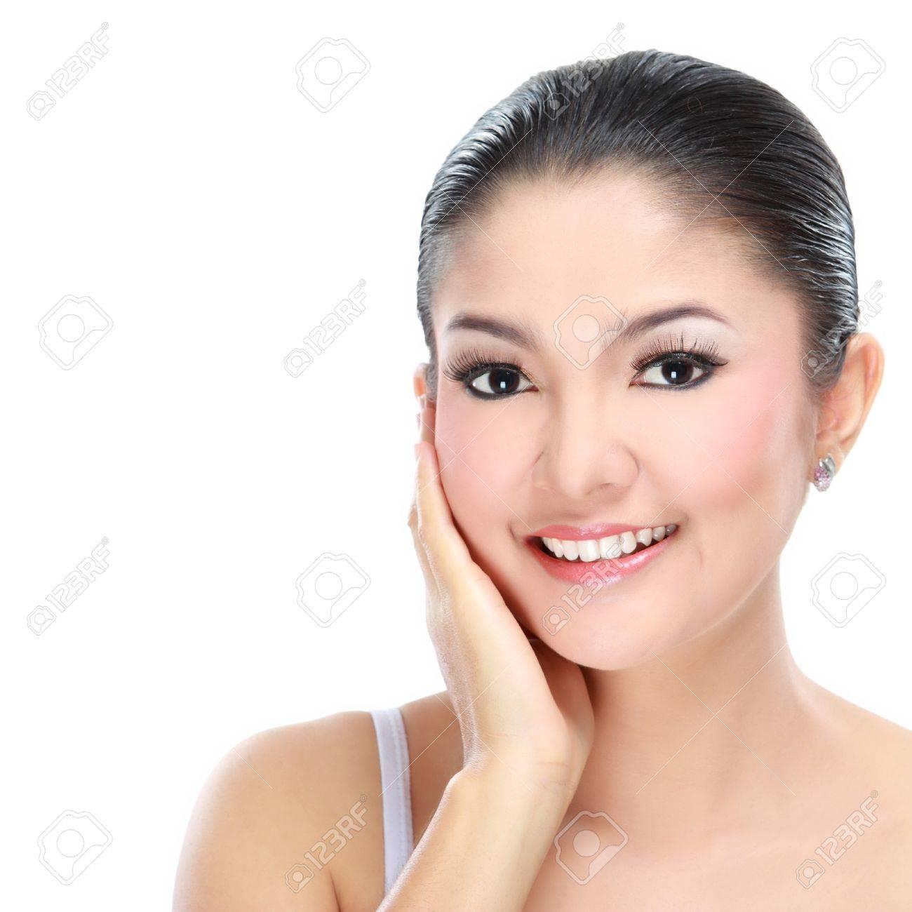 Азиатские красоты молодая женщина