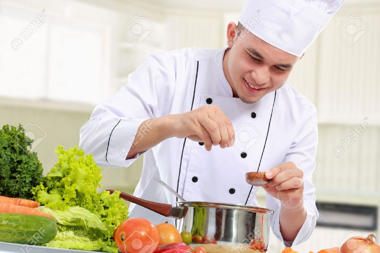 Male chef Nude Photos 60
