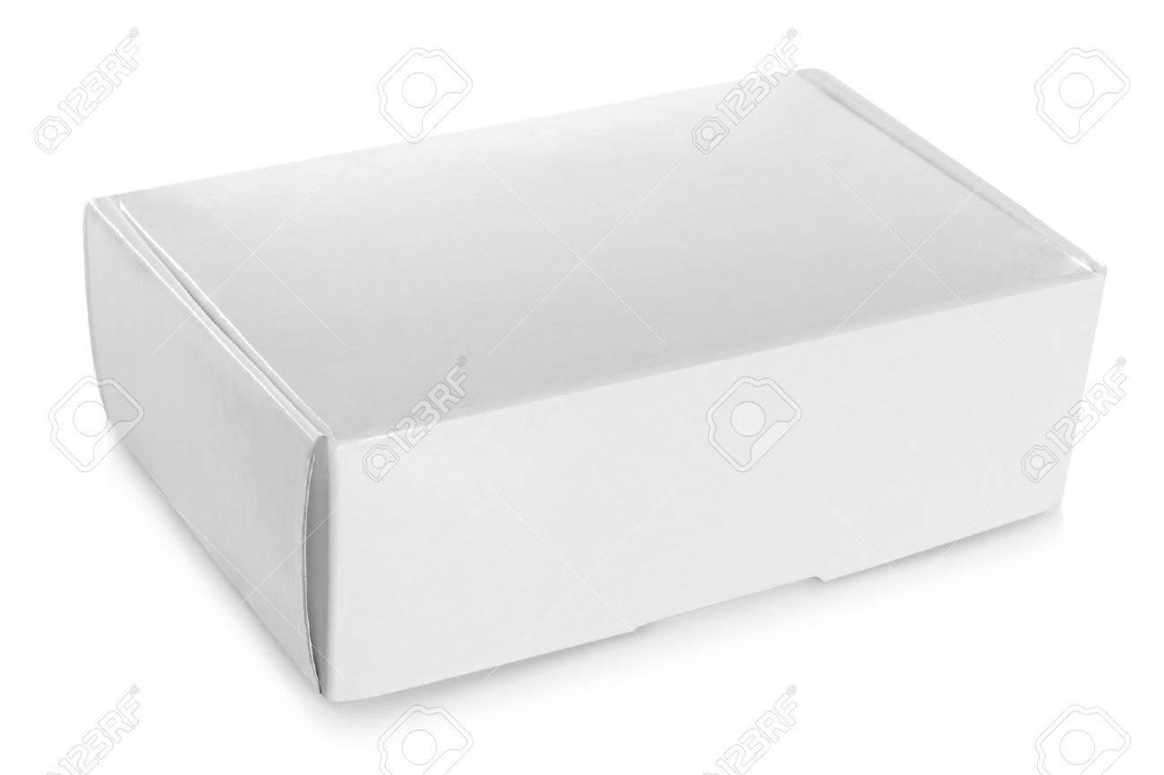 white empty box isolated on white background Stock Photo - 19477387