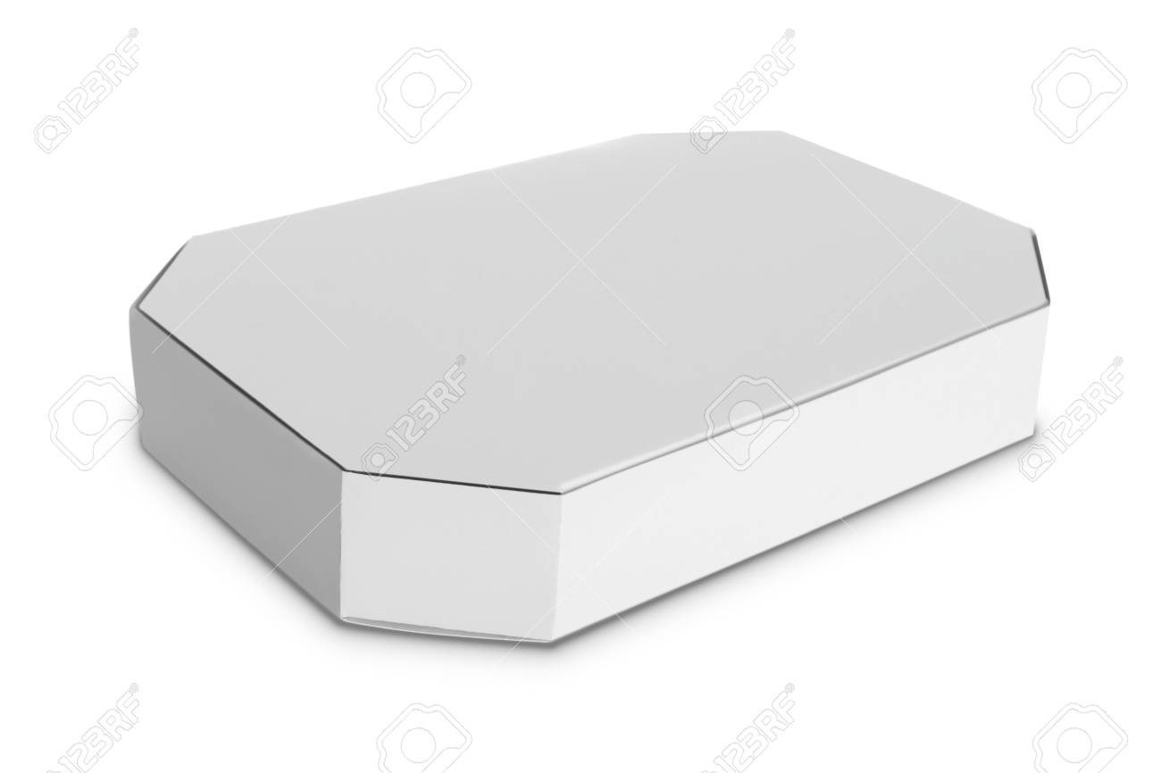 white Package Box. For Software and other products Stock Photo - 22425340