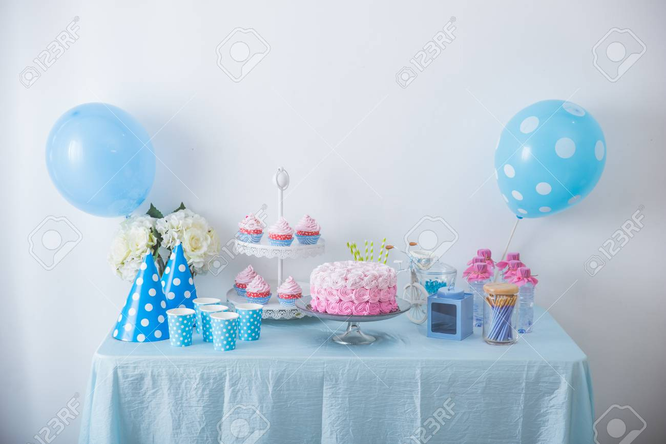 Miraculous Portrait Of Birthday Party Supplies Sweet Corner With Cake Funny Birthday Cards Online Alyptdamsfinfo