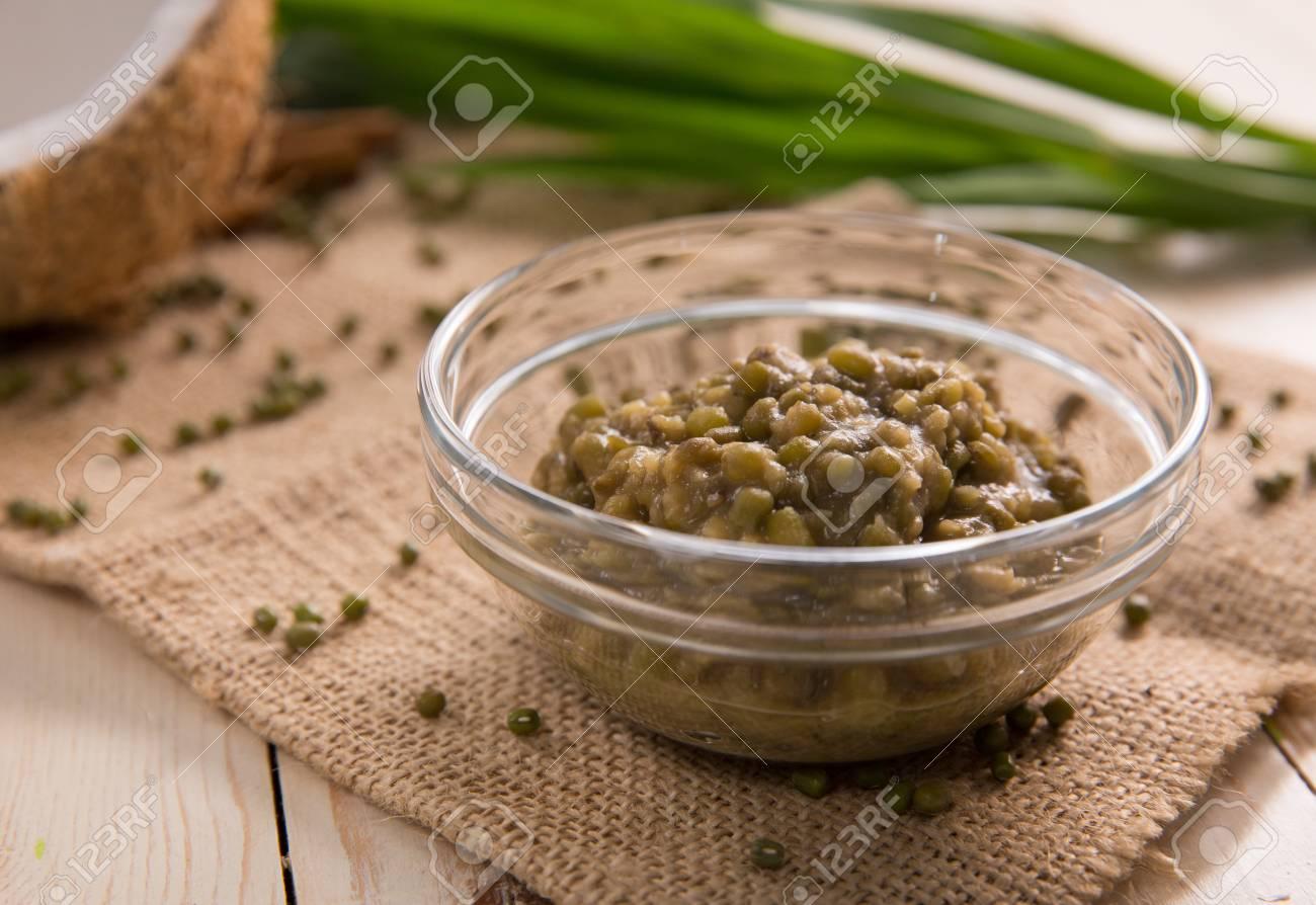 Bubur Kacang Hijau Or Mung Beans Porridge Stock Photo Picture And Royalty Free Image Image 105778003