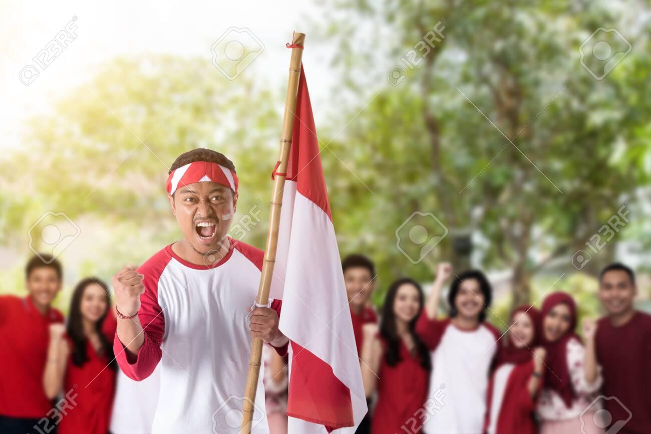 indonesian independence day celebration - 127832529