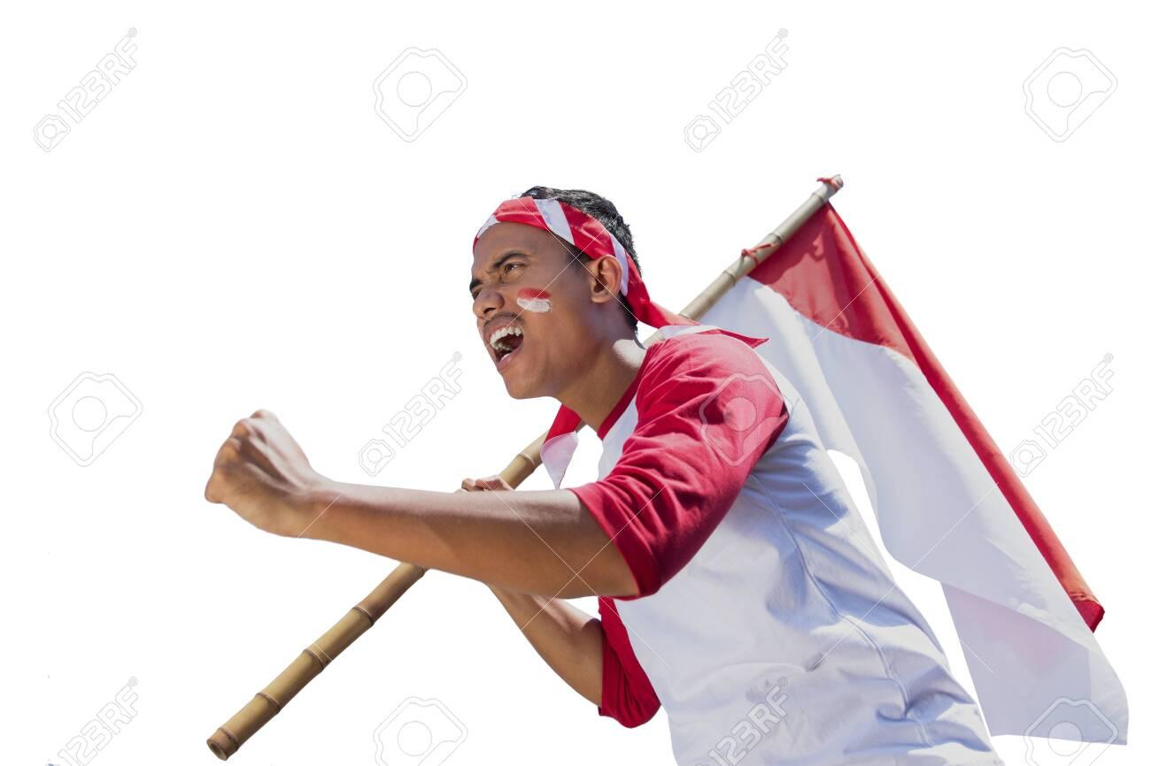 indonesian independence day celebration - 127832532