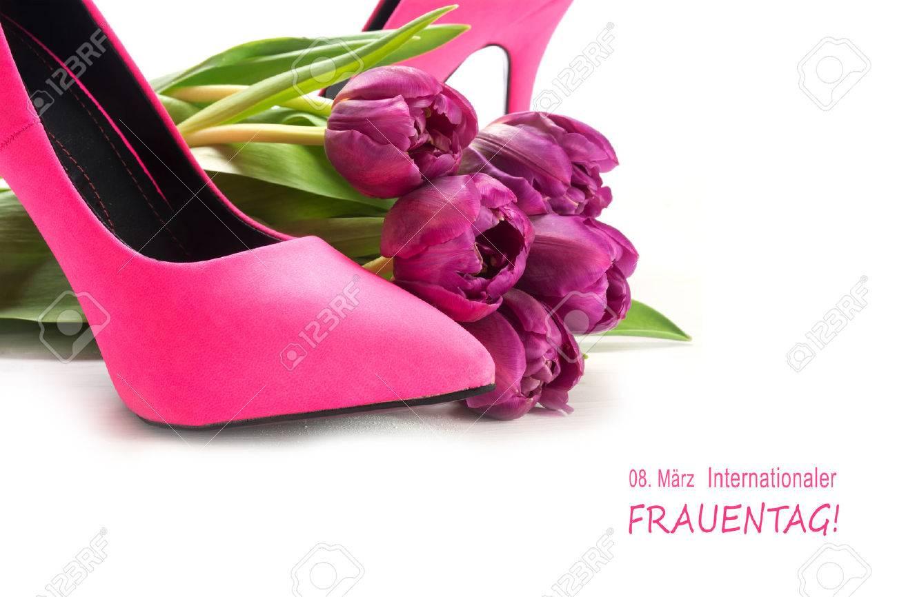 El Marzo De Día 8 Internacional Mujer En La Alemán Texto xwHOq0FHp