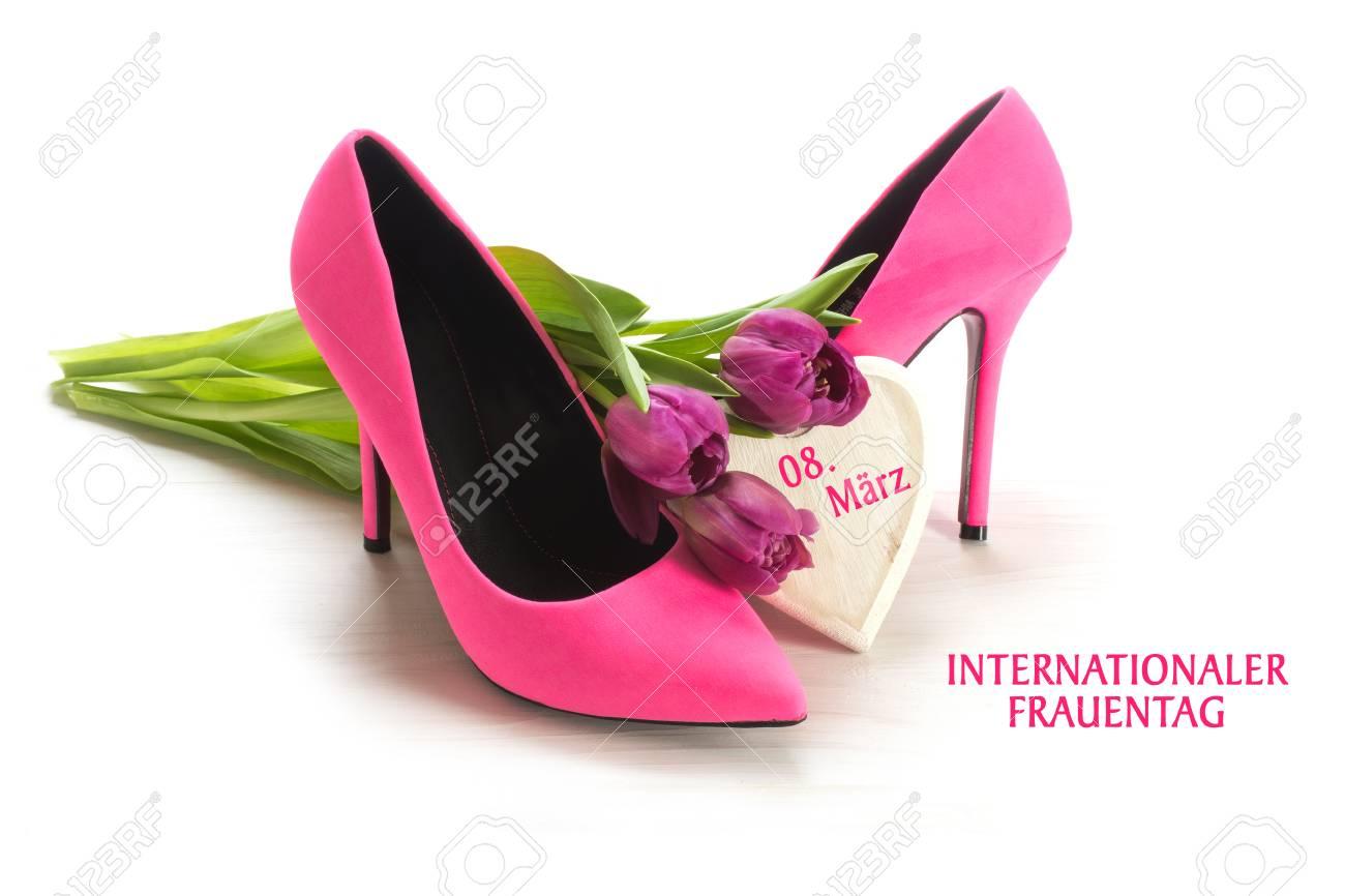 d7516c0aae6 International Women's Day 8 March, german text Internationaler..
