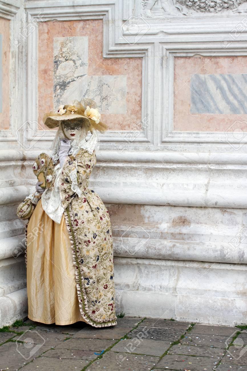 Venice carnival - Italy Stock Photo - 18010420