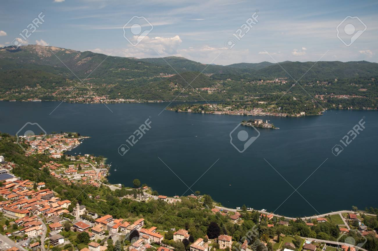 Orta Lake - Italy Stock Photo - 18467393