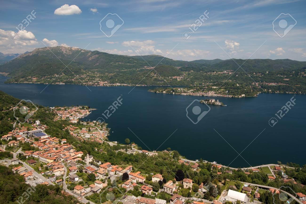 Orta Lake - Italy Stock Photo - 18467395