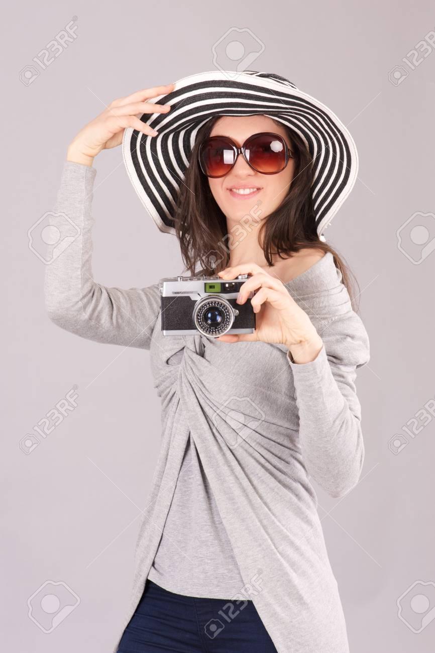 female photographer Stock Photo - 19085465
