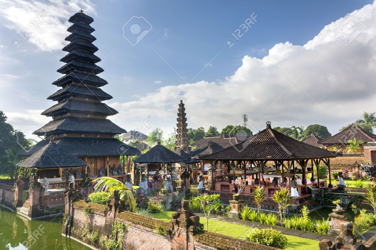 Kesiman Castle At Denpasar,Bali Stock Photo, Picture And Royalty ...