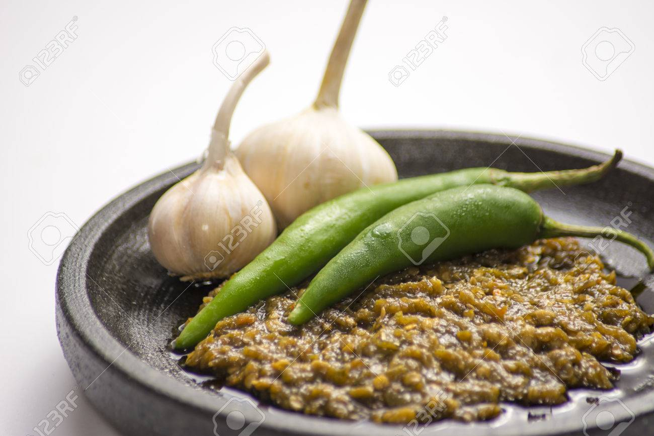 recipe: green chile sambal [17]