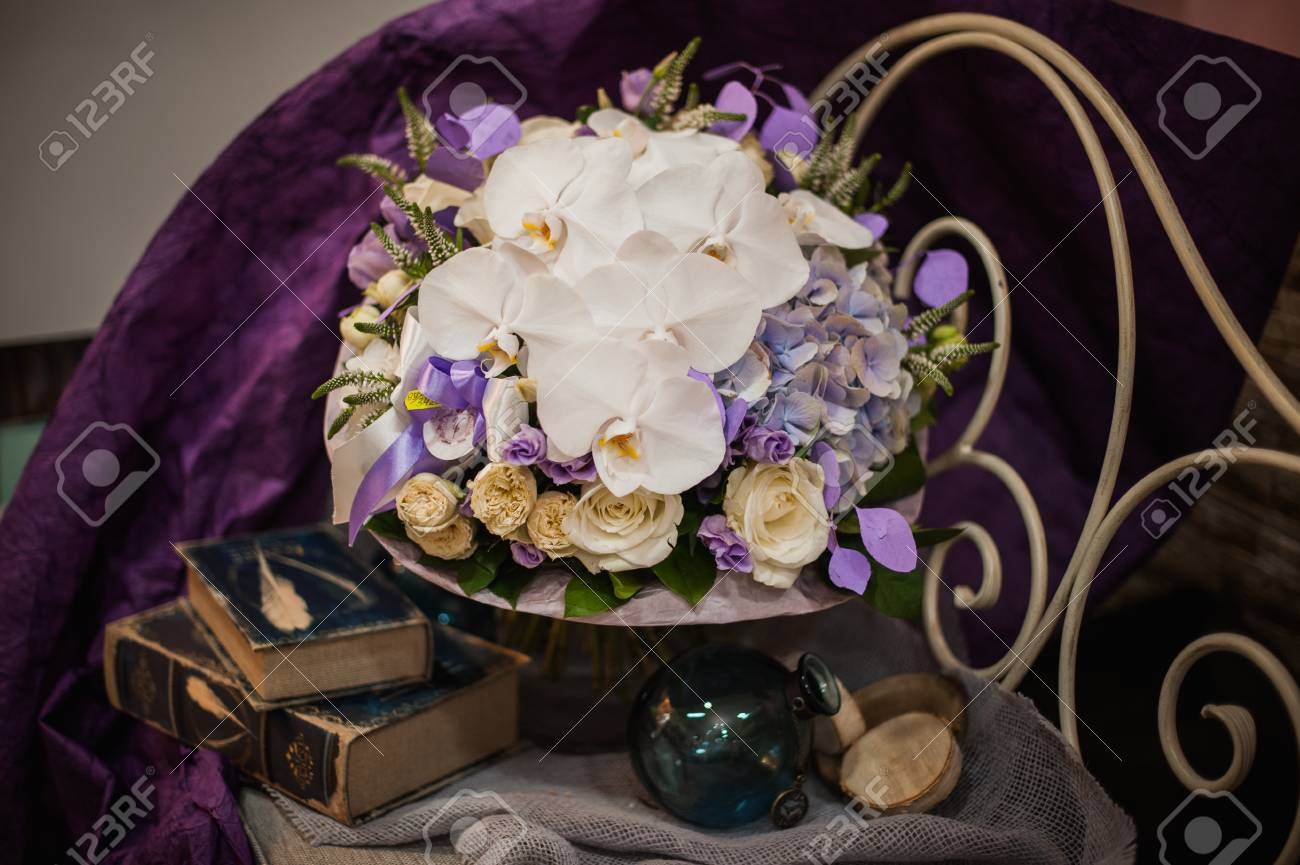 Beautiful white and purple flowers bouquet with orchids stock photo beautiful white and purple flowers bouquet with orchids stock photo 47756578 izmirmasajfo