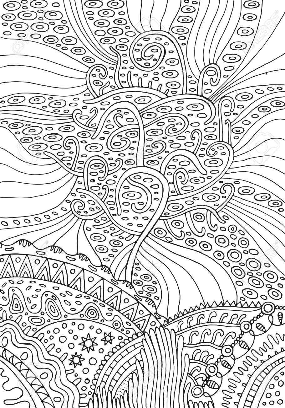 Coloring Pages for Adults Nature Display Tree Of Life