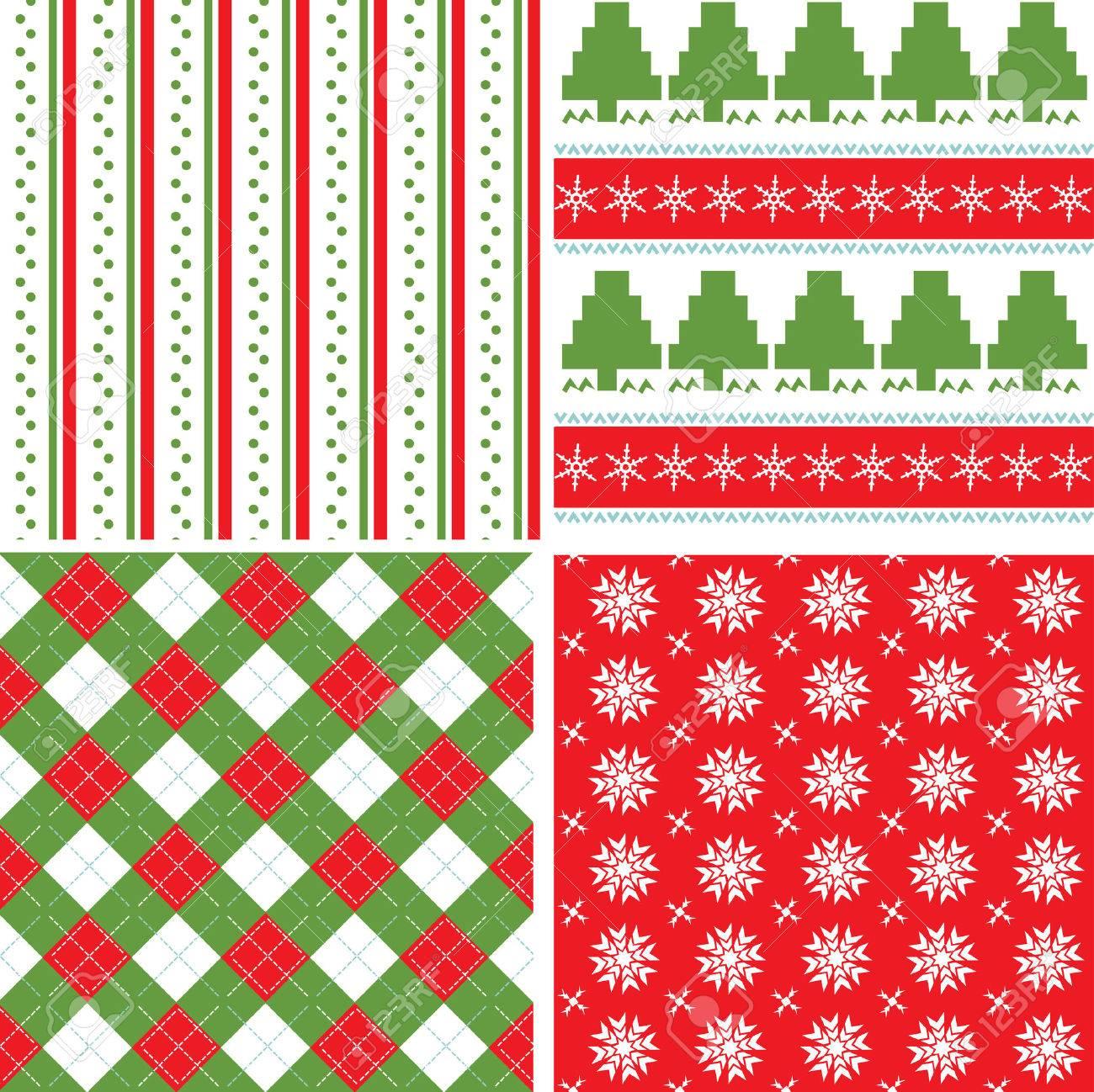 Christmas seamless pattern Stock Vector - 5874982