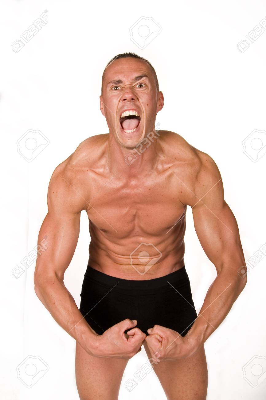Muscular male Stock Photo - 4529270