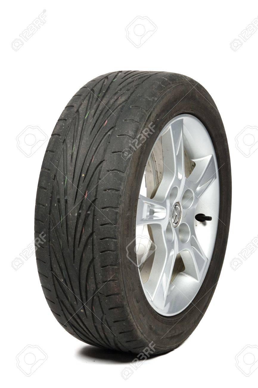 worn old tyre Stock Photo - 6322099