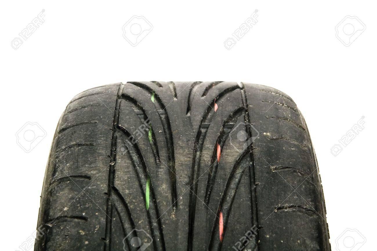 worn old tyre Stock Photo - 6322138