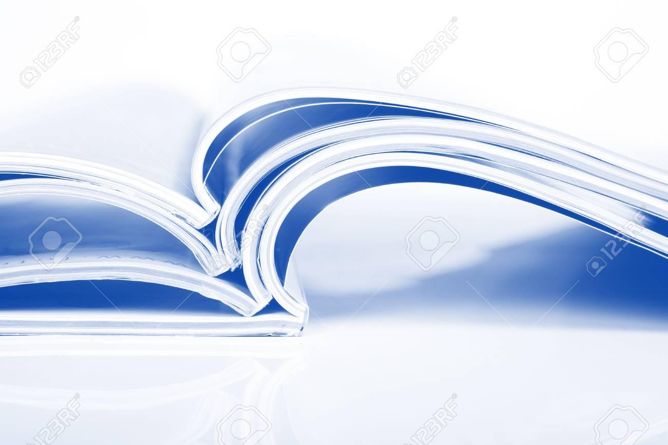 Magazines over white Stock Photo - 6650314