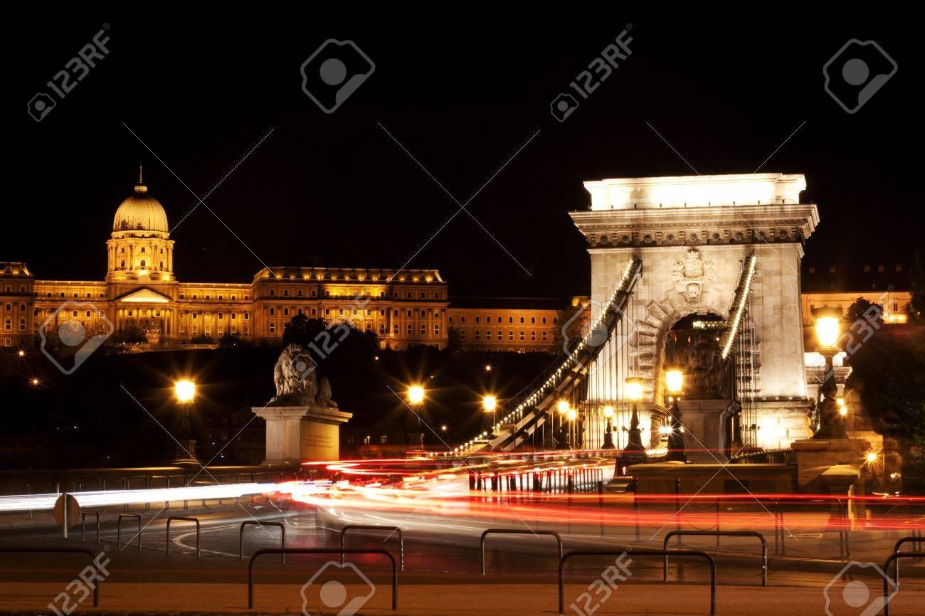 Night lights in Budapest-Hungary Stock Photo - 6939087