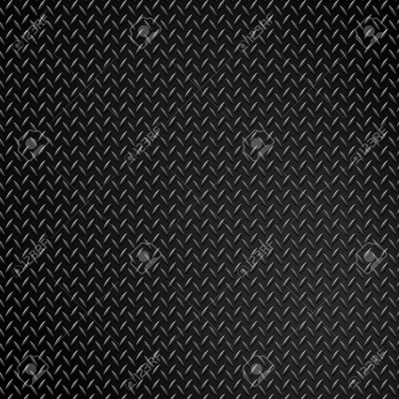 grunge diamond metal background Stock Photo - 7419568