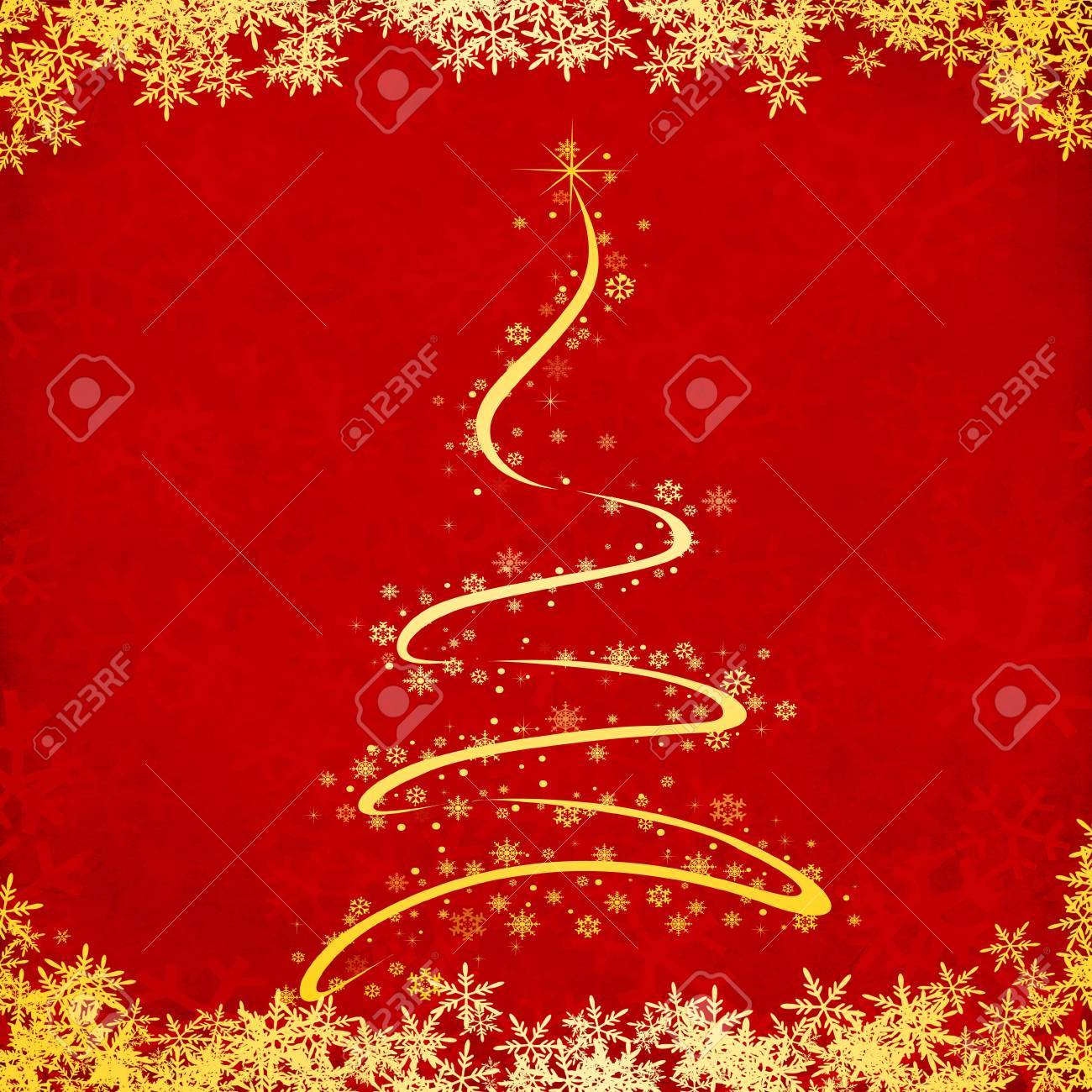 red christmas grunge texture background Stock Photo - 8371557