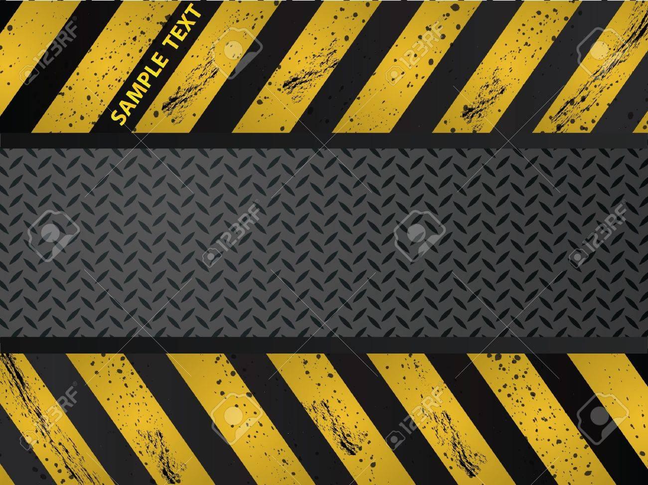 Steel metal plate background vector Stock Vector - 9499570