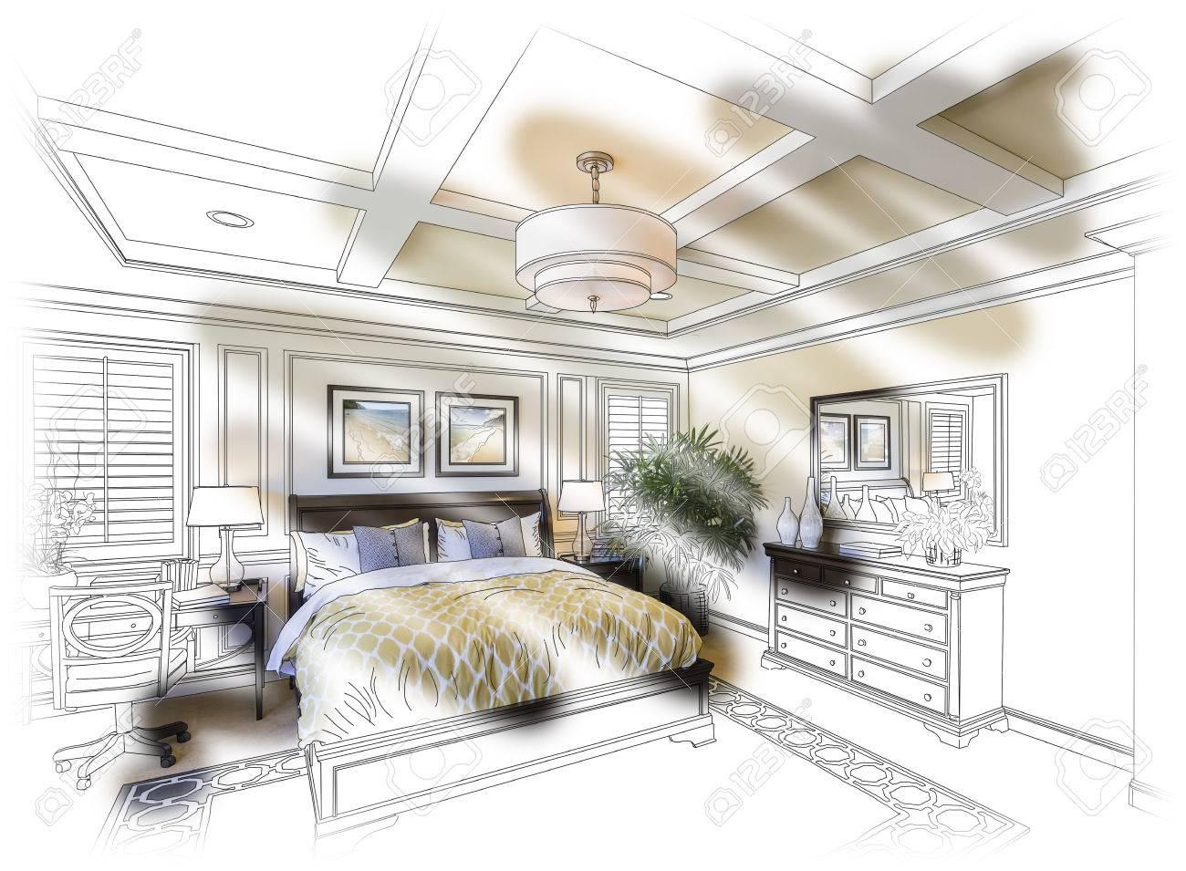 banque dimages belle chambre de custom design dessin et combinaison de photos - Dessin De Chambre
