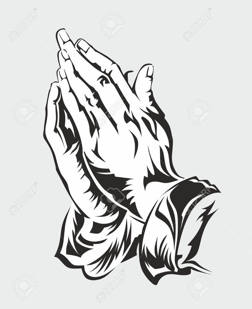 Ilustración De Fondo De Manos Orando Por Duerer Fotos Retratos