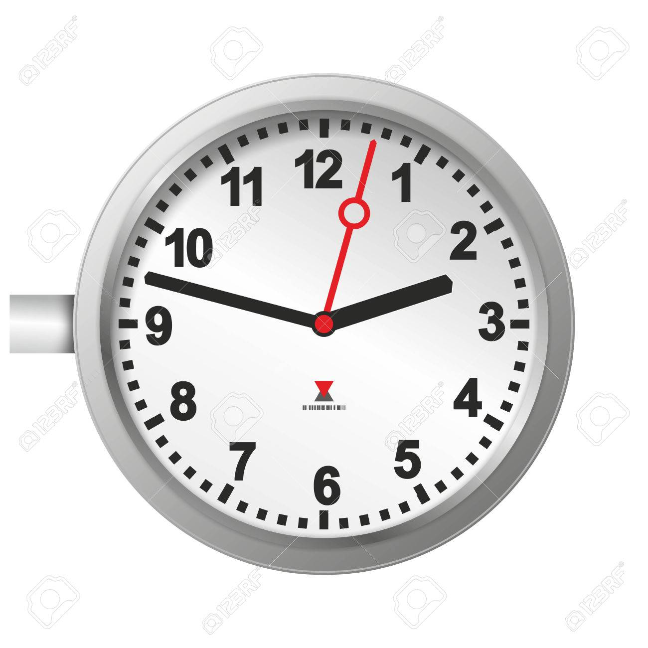 Illustration of a big station clock with second hand stock photo illustration of a big station clock with second hand stock illustration 24358735 amipublicfo Image collections