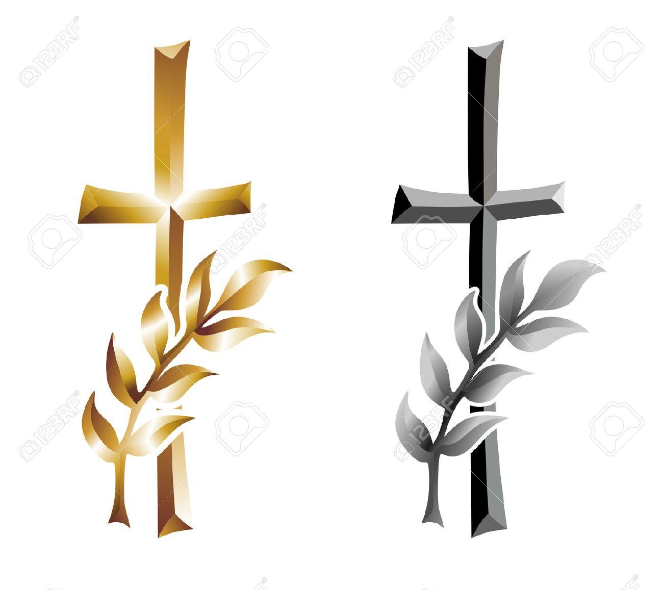 Croix Tombale Avec L Oreille Comme Modele De Condoleances Banque D Images Et Photos Libres De Droits Image 29648620