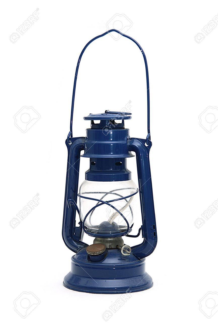 Hot blast kerosene lantern on isolated background Stock Photo - 5469611